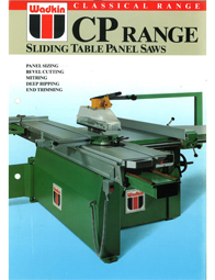Wadkin CP Panel Saw