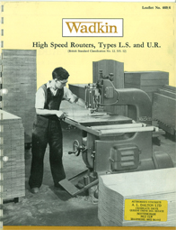 Wadkin LS LS-Compound Router